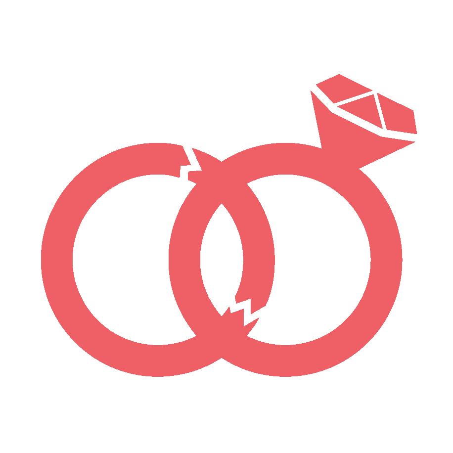 two-interlocking-broken-wedding-bands-icon